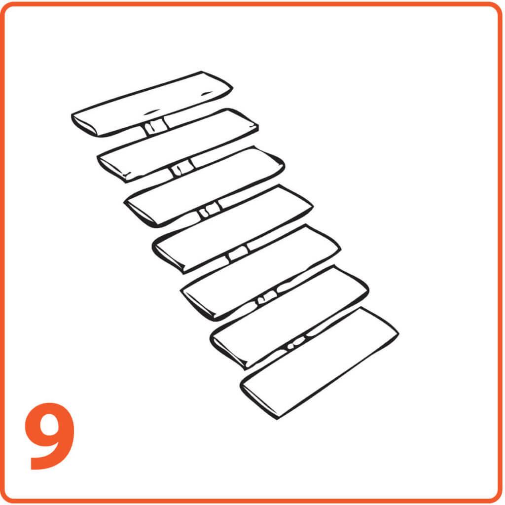 schody mikrocement bez ścian bez podstopnic