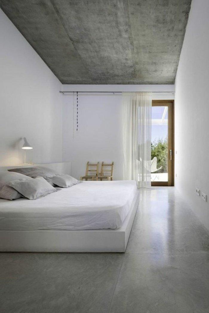 Niesamowite Beton architektoniczny w sypialni? Tak! Inspiracje i porady EZ77