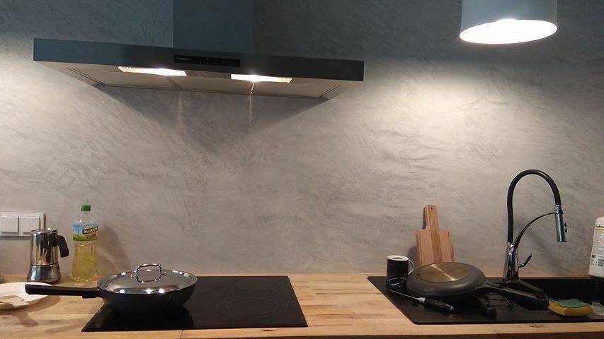Tynk Betonowy W Kuchni