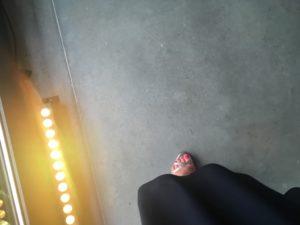 piso de hormigón pulido