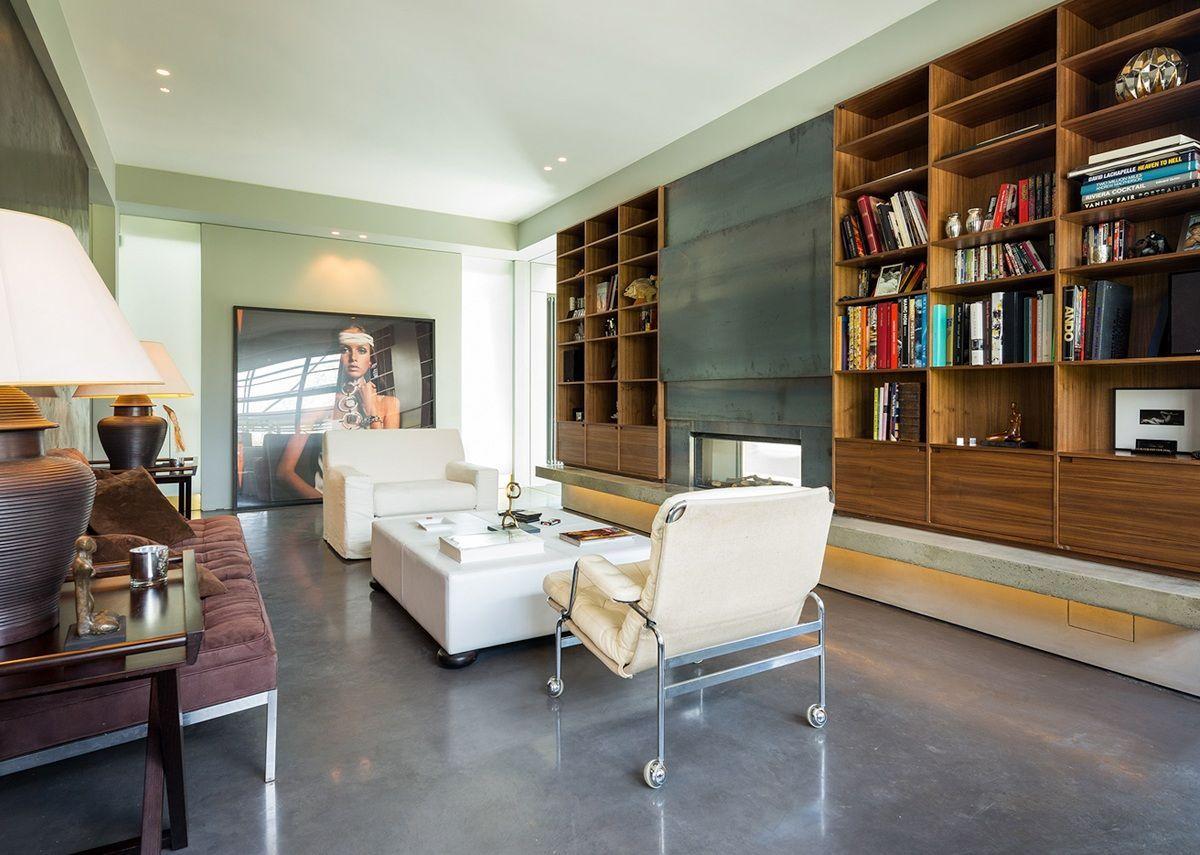 Microcement floor vs polished concrete floor what to choose - Concrete floor living room ...