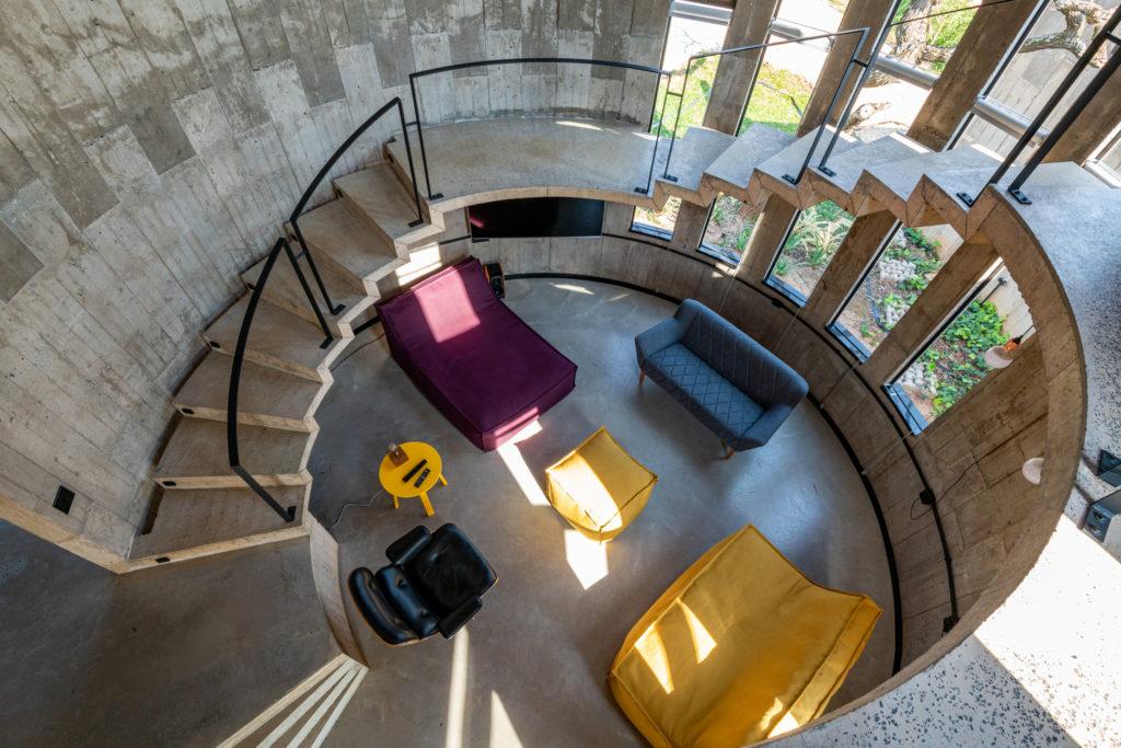 Beton architektoniczy w domu