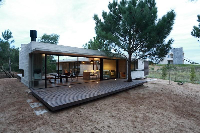 Dom z betonu