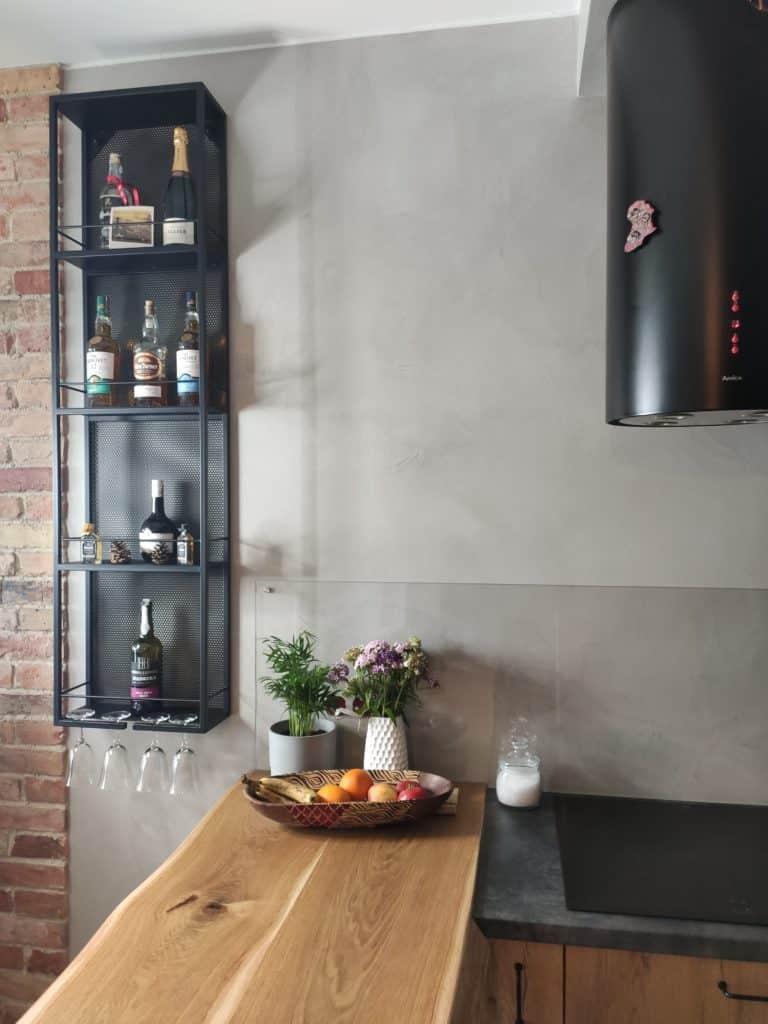 kuchnia z mikrocementem - mikrocement Warszawa
